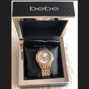 💝Authentic Bebe Watch Silver/Rose Gold NEW